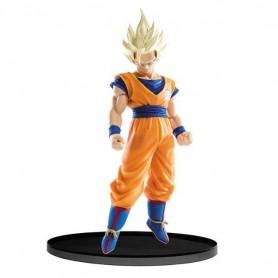 "Dragon Ball Z - Figurine PVC - SCultures Big Budoukai - ""Super Saiyan 2 Goku"" (17cm)"