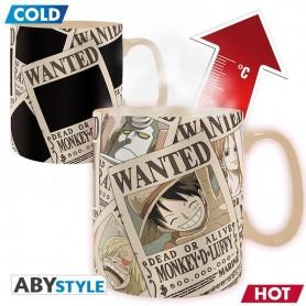 "Mug Thermosensible - One Piece ""Wanted"""