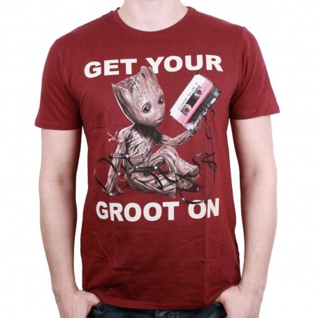 """Les Gardiens de la Galaxie Vol. 2 - T-Shirt UNisex - """" Get Your Groot On """""""